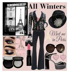 Paris - Winters by prettyyourworld on Polyvore featuring Chanel, Frame Denim, Prada, Marc Jacobs, Miss KG, Betsey Johnson, Aéropostale, Valentino, Gucci and Smashbox
