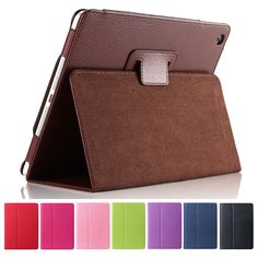 For Apple 2 3 4 Magnetic Auto Wake Up Sleep Flip Litchi Leather Case For New Pad 3 4Cover with Smart Stand Holder Digital Guru Shop