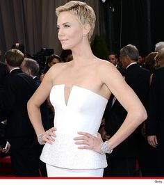 Charlize is stunning!