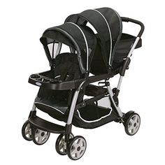 Graco Click Connect LX Duo Stroller and SnugRide 35 Car Seat, Gotham The Graco Click Connect LX Duo Stroller the fun of your family Double Baby Strollers, Best Double Stroller, Twin Strollers, Cheap Strollers, Gotham, Pram Stroller, Jogging Stroller, Toddler Stroller, Diy Home