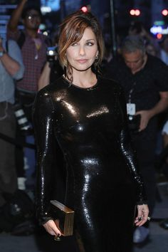 Actress Gina Gershon attends Tom Ford fashion show during New York Fashion Week…