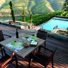 View from Hotel Rural Quinta Nova de N. S. do Carmo****,  Douro Valley, Porto and North Region, Portugal