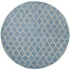 Chatham Blue Grey 7 ft. x 7 ft. Round Area Rug, Blue Gray #AreaRugs