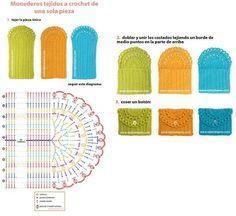 monederos-crochet-10.jpg (642×589)
