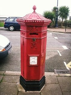 Victorian Penfold Pillar Box, The Parade, Llandudno