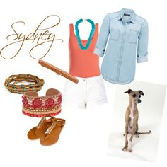 Sydney by chapple-courtney on Polyvore featuring polyvore, fashion, style, Forever New, Pieces, Chan Luu, Kenneth Jay Lane and Linea Pelle