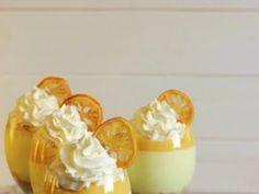 Chessecake de limón en copas (sin horno) - Taringa! Pudding, Desserts, Breakfast Nook, Food Recipes, Christmas Foods, Kitchen Stove, Food Cakes, Tailgate Desserts, Deserts