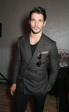 Its the details that make the man. David Gandy with the Carrera 6008.
