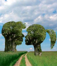 Trees love - Lora Vysotskaya @Bazaart