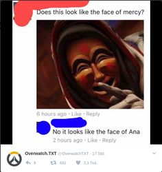 Face of Ana
