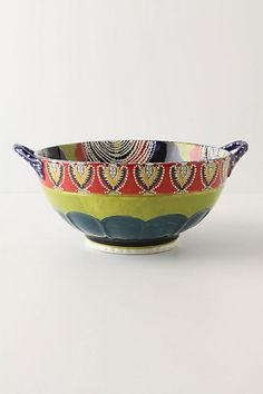 Such a cool bowl!  Love it!