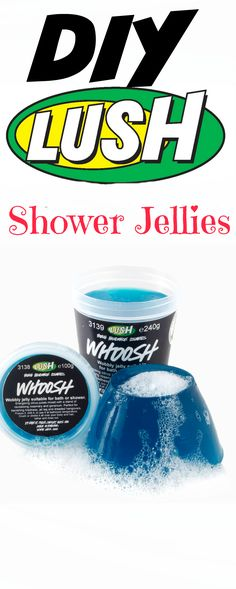 diy lush shower jellies