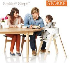 Stokke Steps - il nuovo seggiolone per la pappa di Stokke.
