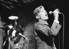David Bowie & Klaus Nomi, December 15, 1979