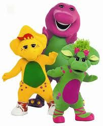 oh these kids growing up with cable will never understand the joy of barney and the backyard gang!