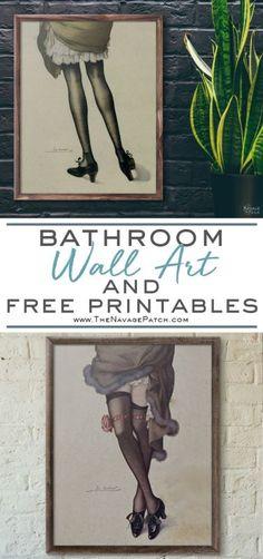 Guest Bathroom Wall