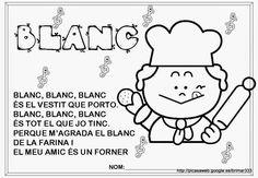 Educació Infantil Brimar: FITXES DE LA CANÇÓ DELS COLORS