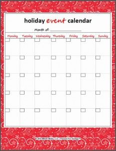 Free Christmas Printables | Holiday Budget, Gift List, Party Planner