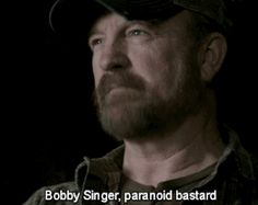 24 reasons you might be Bobby Singer