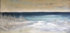 A new x oil and cold wax original by Lori Drew, an artist along the beaches of in South Walton. Beaches, Wax, Coast, Artist, Painting, Artists, Painting Art, Paintings, The Beach