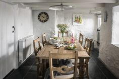 The dining area at The Salt House, Mousehole
