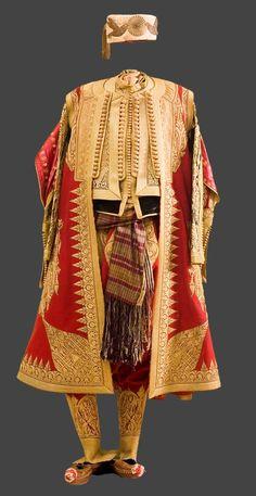 Complete man's set, c Albania Turkish Fashion, Ethnic Fashion, Traditional Fashion, Traditional Dresses, Albanian Culture, Empire Ottoman, Costumes Around The World, Ethnic Dress, Period Costumes