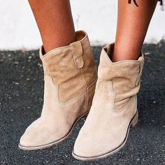 Isabel Marant Etoile 'Crisi' Ruche Cuff Suede Ankle Boots Brown. #IM #Shoes #fashion