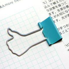 設計福利社_好讚的長尾夾 LIKE CLIPS | 大人物 X 25TOGO 設計好物概念店