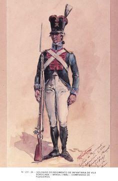 Fuciliere portoghese Napoleonic Wars, 16th Century, Portuguese, Revolution, Army, Military, American, Antiques, Gallery