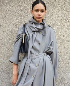 """Céline trench: """"Winter 17 Campaign Photography by Celine Campaign, Chic Outfits, Fashion Outfits, Woman Outfits, Ladies Fashion, Pretty Outfits, Fashion Clothes, Feminine Tomboy, Iranian Women Fashion"""