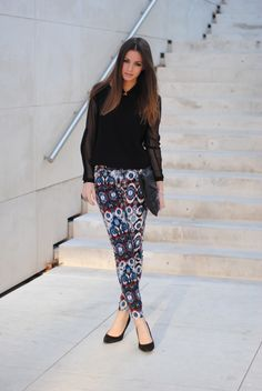 Fashionvibe in H&M sweater and Zara pants