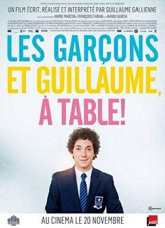 """<3<3<3<3 """"Les Garçons et Guillaume, à table!"""" une comédie de et avec Guillaume Gallienne, André Marcon, Françoise Fabian... (11/2013)"""