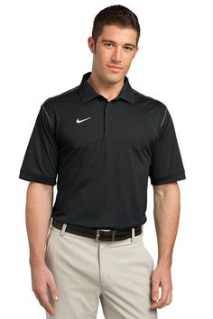 Nike Golf Dri-FIT Sport Swoosh Pique Polo. 443119 * $57.98