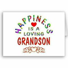 Love my grandsons!♡