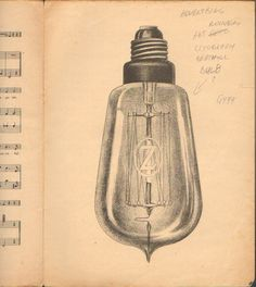 Old RARE Sheet Music Spain Lighting Bulb Lamp Litography Art Nouveau 33cm 74936   eBay