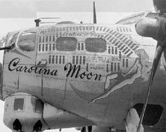 "B-17 Flying Fortress - ""Carolina Moon""."