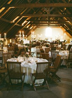 wedding reception idea; photo: Greg Finck Photography