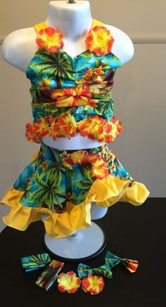 National Pageant Casual Wear OOC Tropical Wear 3 5T | eBay