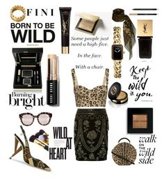 """""""Be the breaker"""" by fini-i ❤ liked on Polyvore featuring Dolce&Gabbana, Chanel, Gucci, Yves Saint Laurent, Burberry, Bobbi Brown Cosmetics and Bulgari"""
