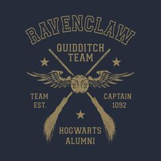 Check out this awesome 'Ravenclaw+Quidditch+Team+Captain' design on @TeePublic!