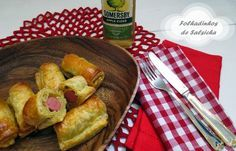 Doçuras & Especiarias: Folhadinhos de Salsicha com Mostarda