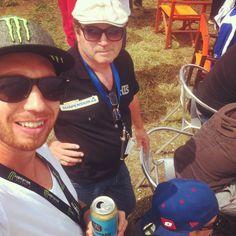 We waching the Motocross Champioship.