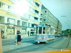 Christianshavns Torv med linie 2 i 1960'erne
