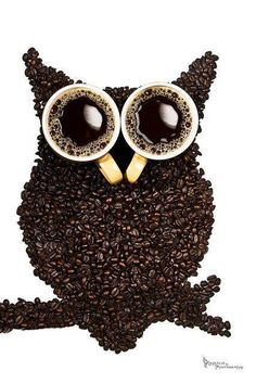 It's impossible not to love the combination Coffee + Night Owl