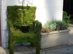 moss chair. diy instructions found at this pin!
