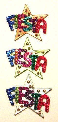 My friend makes these Fiesta Stars