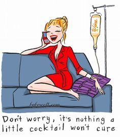 nothing a bottle of #wine can't cure...