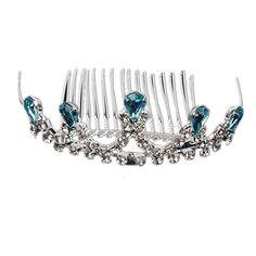 FUMUD Little Princess Blue Silver Crystal Girls Hair Tiar... https://www.amazon.com/dp/B01D5PFWJK/ref=cm_sw_r_pi_dp_x_7dWeybKH4GF6C