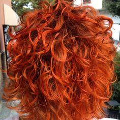 #copper #curl #hair #haircolor #haircut #inoa #rubilane