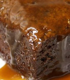 Traditional Date Pudding (with a variety of sauce choices)